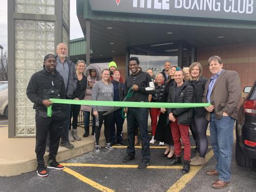 Ribbon Cutting | Title Boxing