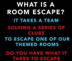 Escape Room Group Session